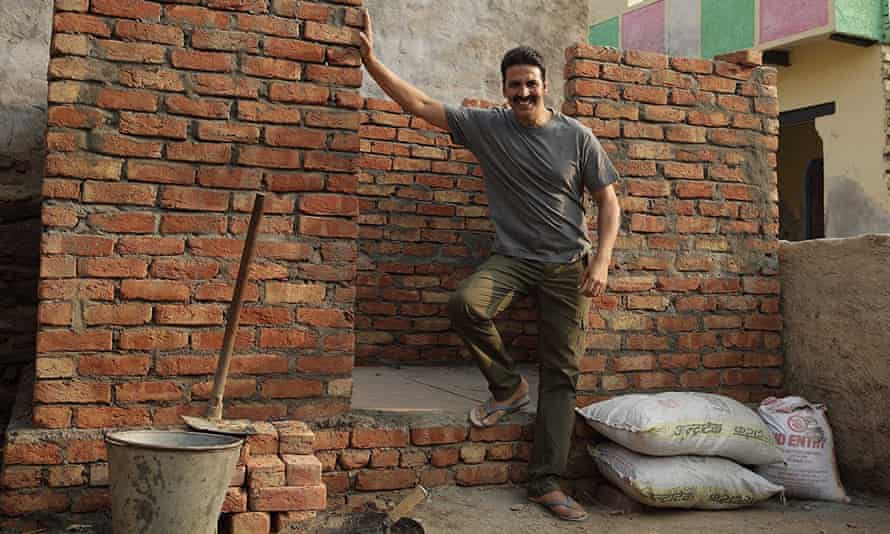 Akshay Kumar in the Hindi film Toilet