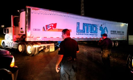 'A smell of death': Mexico's truck of corpses highlights drug war crisis
