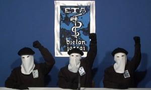 三个Eta武装分子