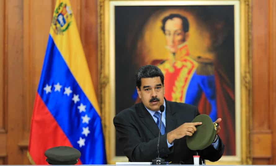 Venezuelan president Nicolás Maduro: 'I looked Death in the face! I saw Death right before me and I said: 'It's not my time! Get out of here, Death!'