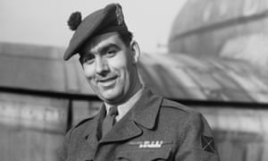 Bill Speakman in 1952. He found it hard to settle into civilian life and had to sell his medals to raise money.