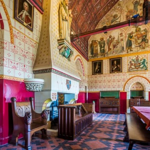 The Banqueting Hall, Castell Coch.