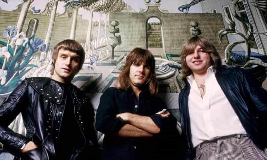 Emerson, Lake & Palmer in the 70s: Carl Palmer, Keith Emerson and Greg Lake.