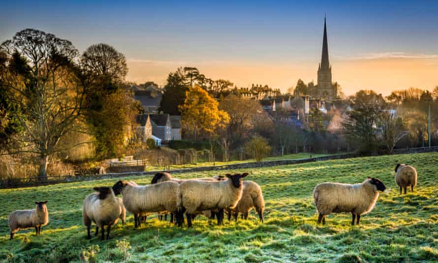 Tetbury, Gloucestershire … Rotherweird is set in a quiet corner of rural England. Photograph: Alamy