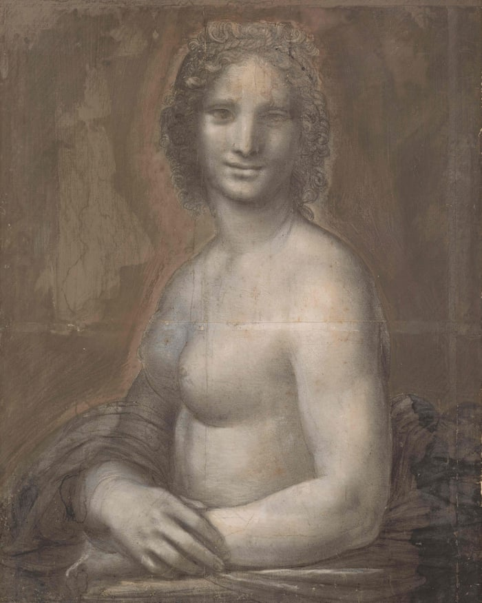 Did Leonardo da Vinci create a nude Mona Lisa – and if so, who was the  model?