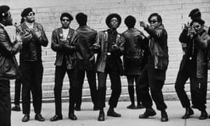 Black Panther members demonstrating in 1969, after 21 Panthers were charged with plotting to blow up several sites in New York City. They were later acquitted.