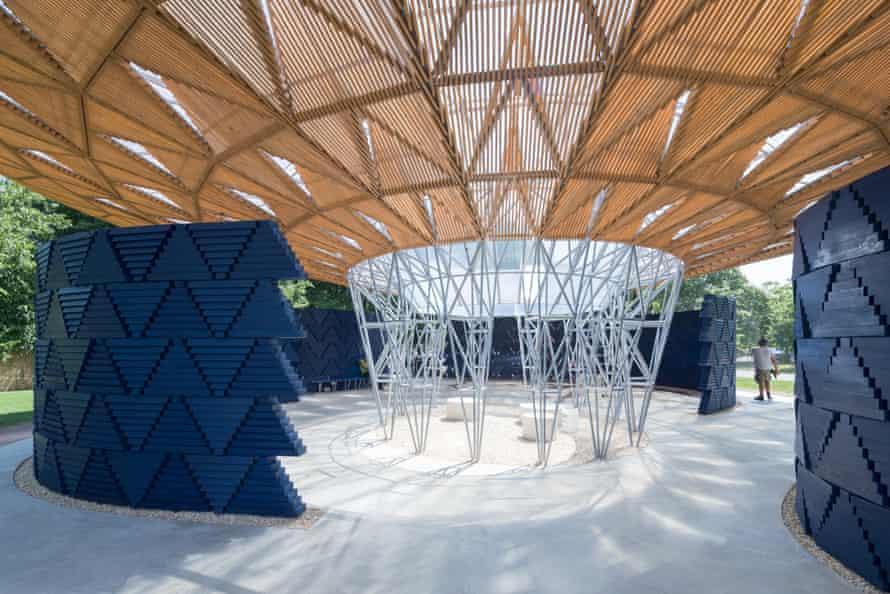 Francis Kéré's pavilion.