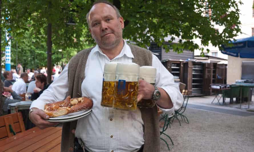 Augustiner-Keller beer garden.