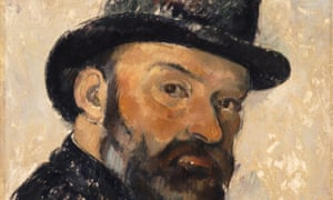 Miracles of scrutiny … detail from Self-Portrait with Bowler Hat (1885–6), which will be in Cézanne Portraits at the National Portrait Gallery.