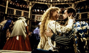 A scene from the 1998 film Shakespeare in Love, in which Gwyneth Paltrow defies tradition to play the lead in Romeo and Juliet. Allstar