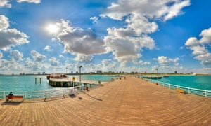 The great pier at Kish island
