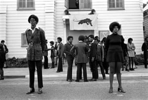 George Jackson's funeral