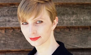 Former US soldier Chelsea Manning, after her release from prison.