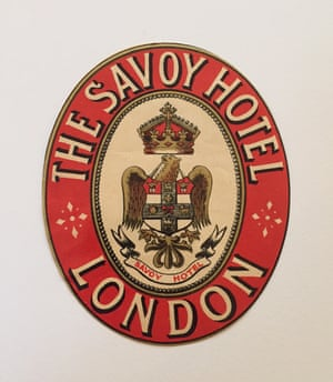 Savoy Hotel London: A stately design from Britain's first luxury hotel, which was built with the profits from Richard D'Oyly Carte's Gilbert and Sullivan operas. How many hotels have a coat of arms? The Savoy's long history includes hosting numerous famous names from Sinatra to Bogart, and has a long association with the arts.