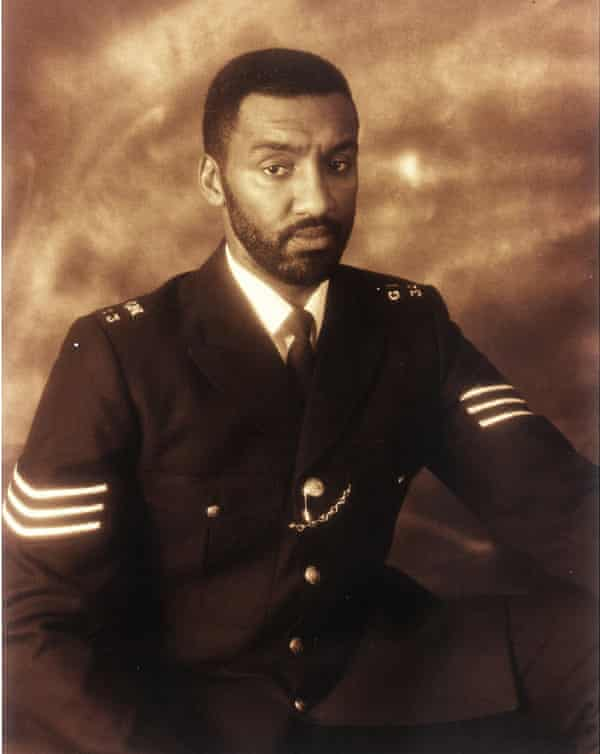 Leroy Logan as a sergeant in the Metropolitan police