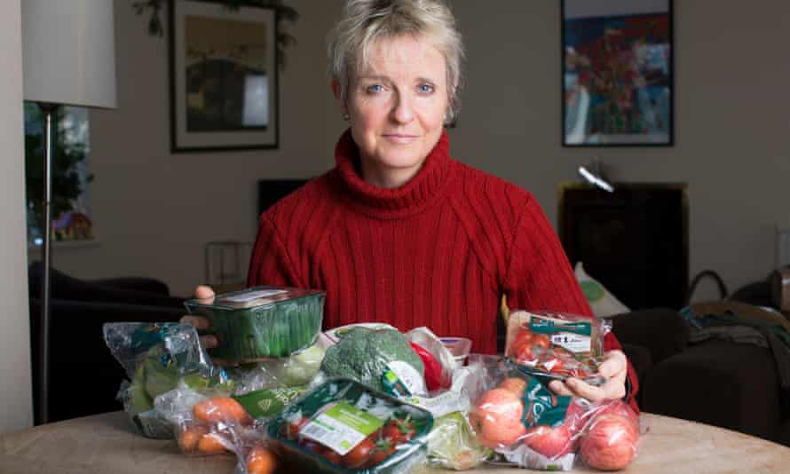 Clare Brignall says stripping products of their organic status if they're packaged in non-recyclable material, would soon solve the problem.