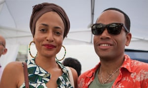 Ben Bailey Smith and his sister, novelist Zadie Smith