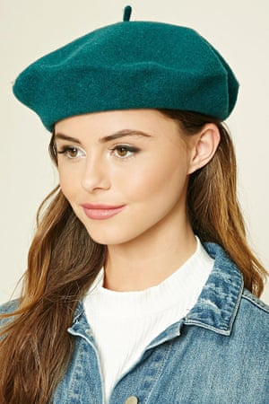 Wool beret, £11, Forever 21.