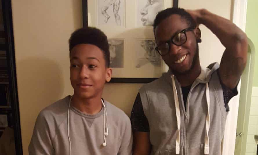 Dolezal's son, Franklin and Izaiah, her adoptive teenage brother