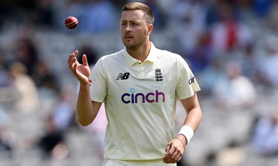 Ollie Robinson took two wickets on the first day of the first Test, but publicity surrounding some of his historical tweets tarnished his debut.