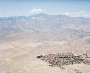 Desert Hot Springs and San Gorgonio Mountain. California, USA, 2015
