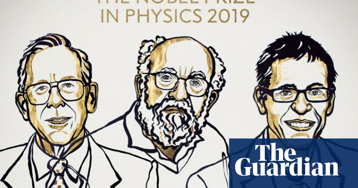 Nobel prize in physics awarded to cosmology and exoplanet researchers