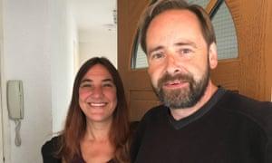 Tony Carson and Sue Rimington