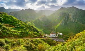Tenerife's green, hilly north - Afur village