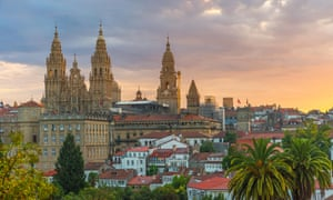 Sunrise, Santiago de Compostela.