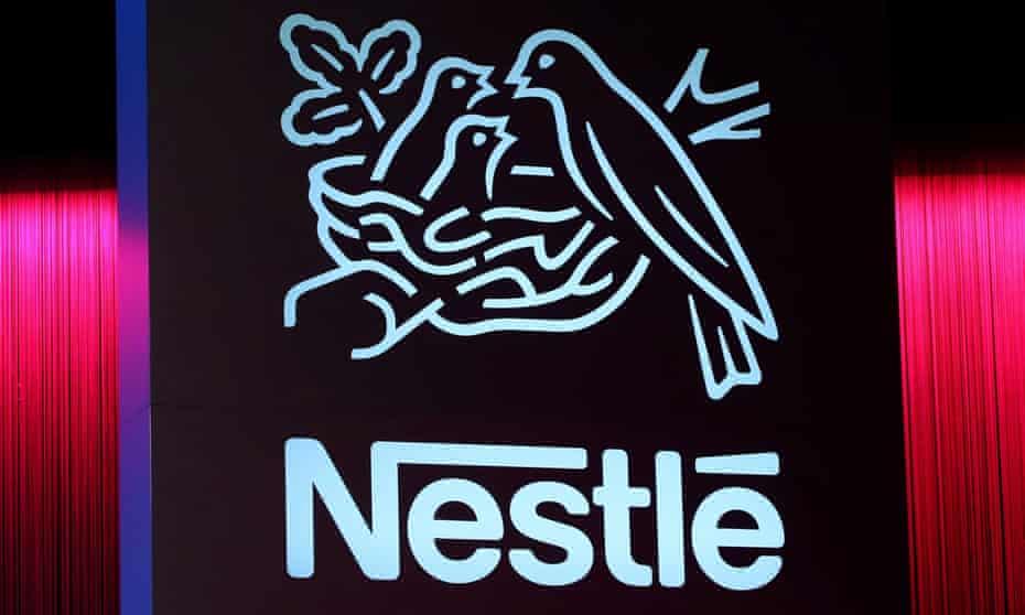 A Nestlé logo