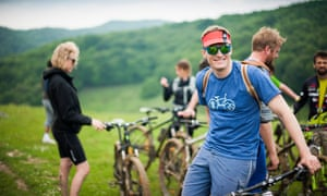 Slow cycling in Transylvania.