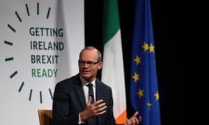 Ireland's deputy prime minister, Simon Coveney