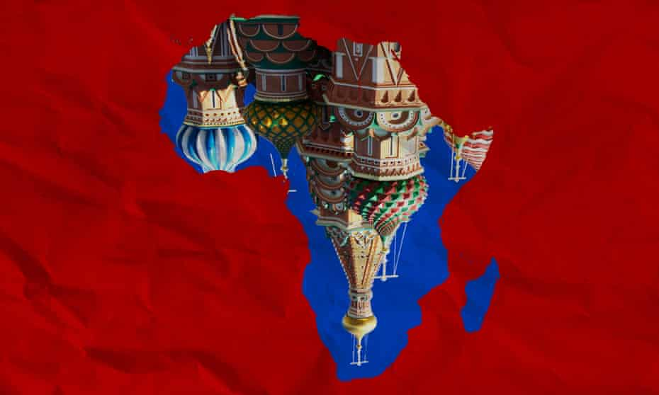 Russia in Africa graphic