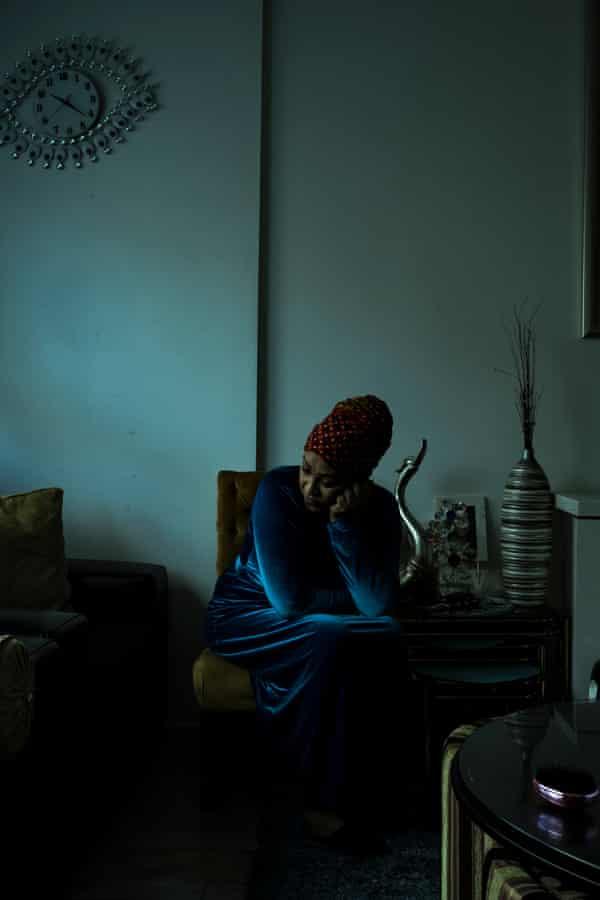 Ruth Eyakem, originally from Eritrea, lives on the Flemington estate