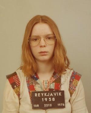 Erla Bolladottir in 1976.