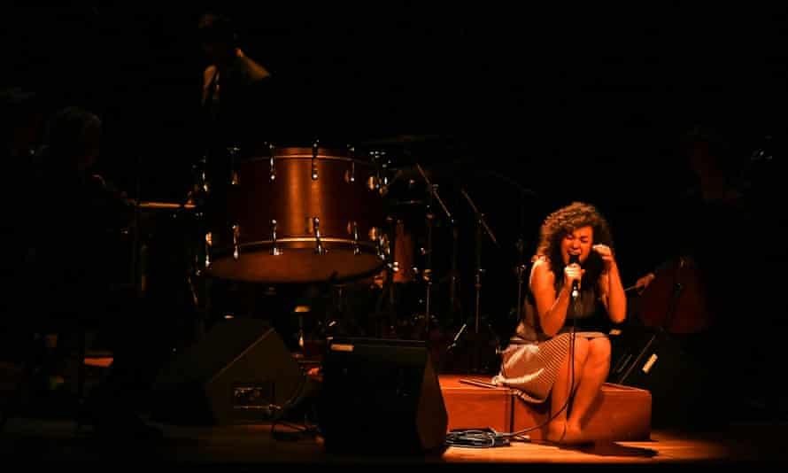 Nora Fischer at Sound Unbound at the Barbican, London