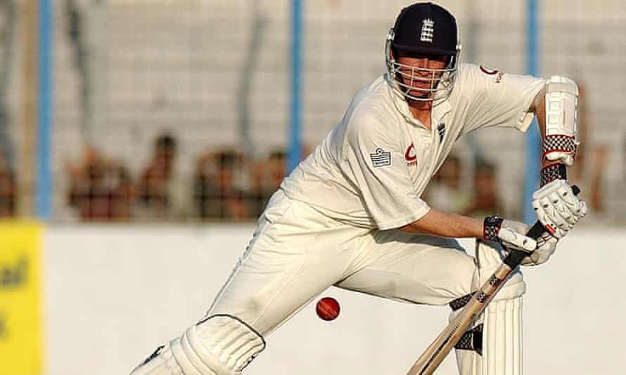 Rikki Clarke made half a century for England against Bangladesh in 2003.