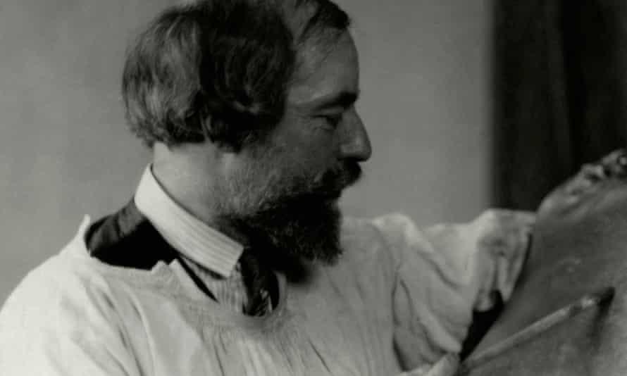 Augustus John in New York, 1923.