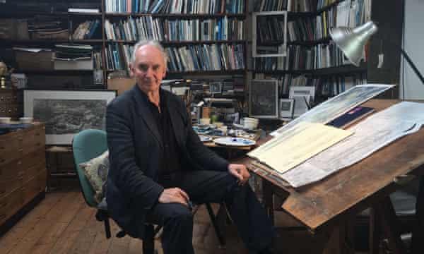 Illustrator Alan Lee, a long time collaborator of JRR Tolkien