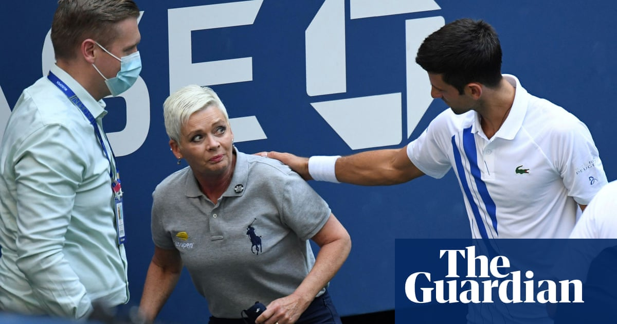 Line judge hit by Novak Djokovic at US Open receives abuse on social media