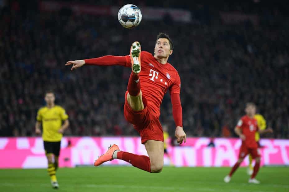 Robert Lewandowski new mindset means 'he can almost enjoy an assist now', his teammate Thomas Müller joked.