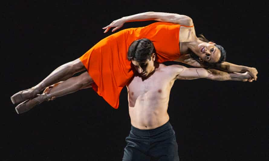 Francesca Hayward and Cesar Corrales in Morgen by Wayne McGregor from Beauty Mixed Programme by The Royal Ballet.