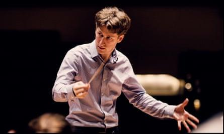 Crisp and rhythmic conducting … Joshua Weilerstein