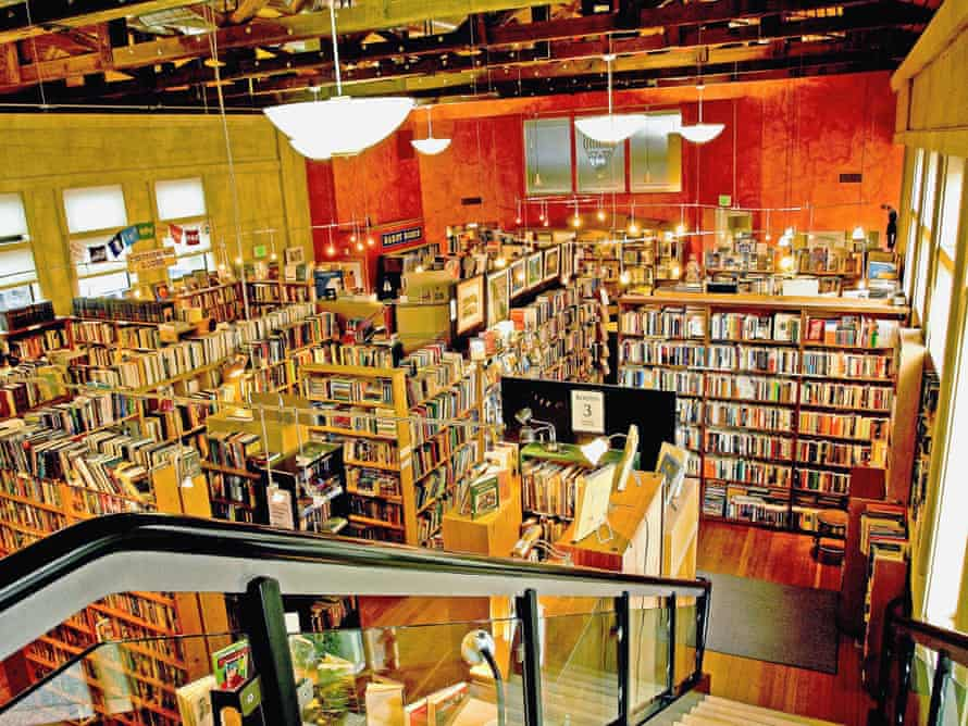 Booktown Books co-operative in Grass Valley, California, USA.