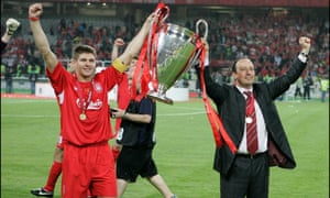 Houllier says he left Rafa Benítez 'five things that were good for him' which helped Liverpool to win the Champions League in 2005.