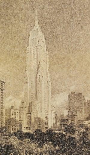 Skyscraper church - 1929