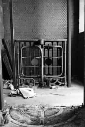 An abandoned turnstile