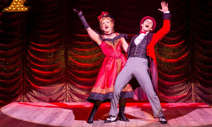 Winning performances … Alex Young and Danny Collins in Show Boat.
