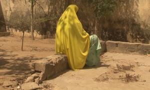 A survivor of sexual violence in Nigeria's north-eastern Borno state