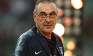 Maurizio Sarri has made it clear to Chelsea that he would like to return to Italy